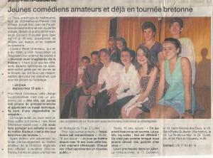 Ouest-France 17 juillet 2013